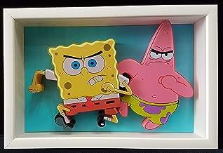 Spongebob Squarepants and Patrick Star Frame 3D Picture Art Cartoon Nickelodeon
