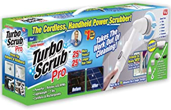 Turbo Scrub PRO – 360 Cordless Rechargeable Floor Scrubber and Tile Cleaning..