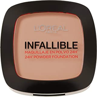 L'Oreal Paris Infallible 24H Compact Powder Foundation - 0.31 oz, 245 Warm Sand