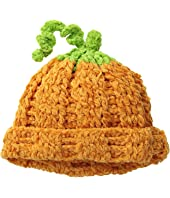San Diego Hat Company Kids - DL2522 Hand Crochet Pumpkin Hat (Infant/Toddler/Little Kids)