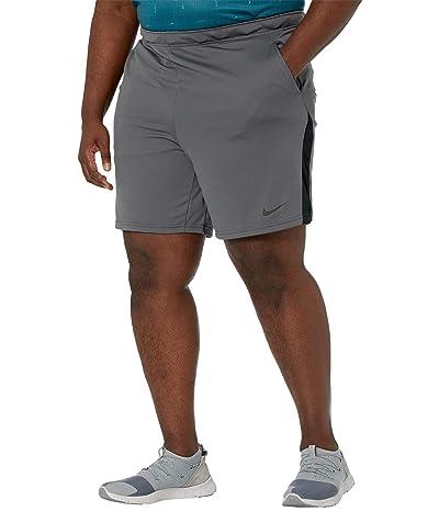 Nike Big Tall Dry Shorts 5.0 (Iron Grey/Black/Black) Men