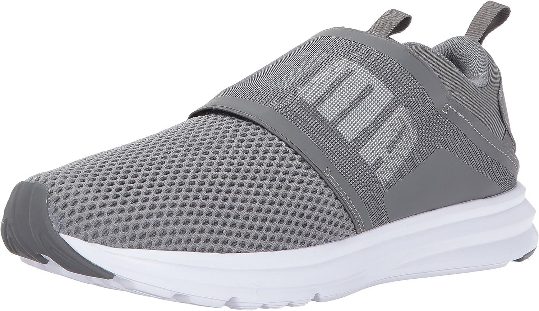 PUMA Unisex-Adult Enzo Strap Sneaker