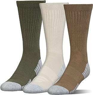 Men's Heatgear Tech Crew Socks (3 Pair Pack)
