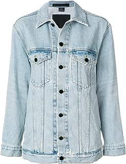 Alexander Wang Luxury Fashion Womens 4D992034ACDN1003108 Light Blue Jacket   Fall Winter 19