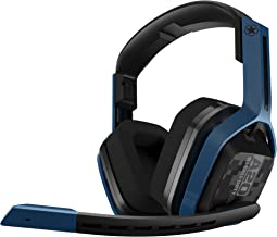 ASTRO Gaming A20 trådlöst spelheadset kompatibelt med PlayStation & PC – Call of Duty Edition (marinblå/svart)