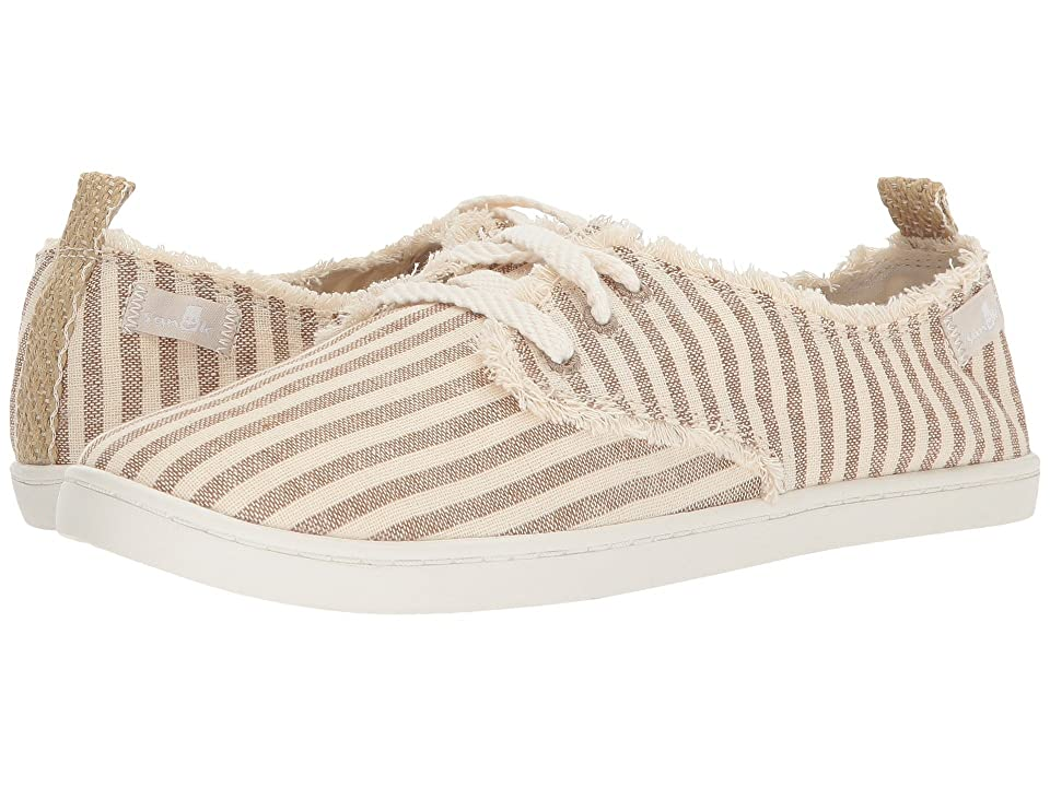 Sanuk Maisie (Natural Stripes) Women