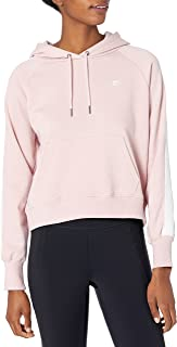 Starter Womens Striped Tape Pullover Hoodie
