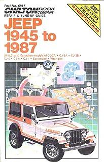 小さくてコンパクト チルトンの修理&チューンアップガイドジープ1945年から1987年:すべての米国およびカナダのモデル..