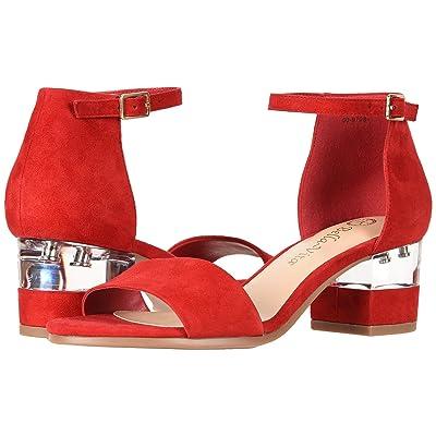 Bella-Vita Fitz (Red Kid Suede Leather) Women