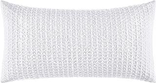 Laura Ashley Liana Throw Pillow, 14 x 26, White