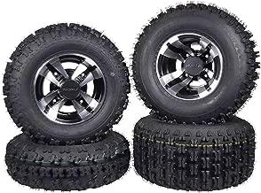 4 Yamaha Raptor 660R 660 Quadboss Front Rear Sport ATV Tires 21x7-10 20x10-9