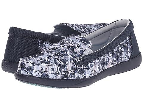 Walu II Striped Floral Loafer Crocs NIjMshUb