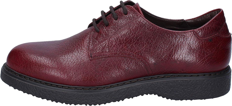TRIVER FLIGHT Oxfords-shoes Mens Leather Purple