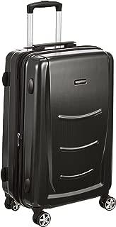 AmazonBasics Hardshell Spinner Luggage - 24-Inch, Black