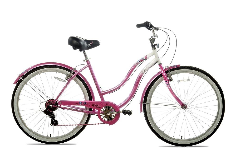 Susan G Komen 7-Speed Beach Cruiser Bike (26-Inch Wheels)
