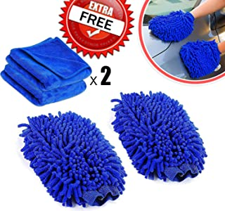 Portable Bag Automotive MRCARTOOL 7 Pack Portable Car Wash Clean Kit with Car Wash Mitt/Car Wash Sponge/Wheel Brush/Car Air Vent Mini Duster with Dustpan/Small Wax Drag