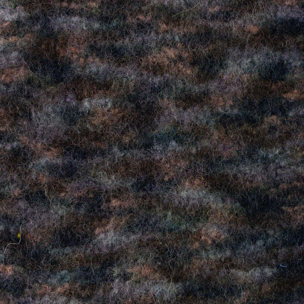 Schwarz-Grau-wei/ß Multicolor Laine Gr/ündl Kit de Tricot Complet Laine feutr/ée 25 x 16 x 07 cm