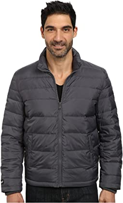 Zip Front Down Jacket