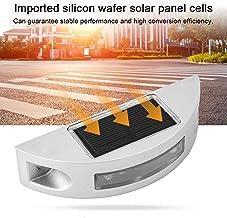 Road Stud Lights Ground Lights Solar Solar Road Lights 4 stuks Milieubescherming, Outdoor
