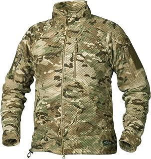 Helikon Men's Alpha Tactical Jacket Grid Fleece Camogrom