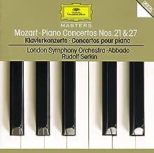 Mozart: Piano Concertos Nos.21 K.467 & 27 K.595