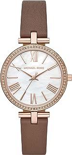 Michael Kors Women's Quartz Wrist Watch analog Display and Leather Strap, MK2832