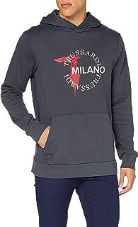 Trussardi Jeans Felpa con Cappuccio Uomo