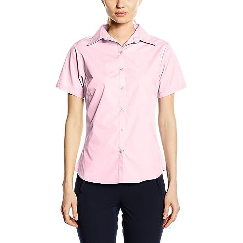 efc6feb9909 Premier Workwear Ladies Short Sleeve Poplin Blouse