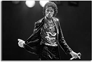 Poster #07 Michael Jackson 80s Pop Rock Musician Music 36x48 inch More Sizes Available Canvas Frame