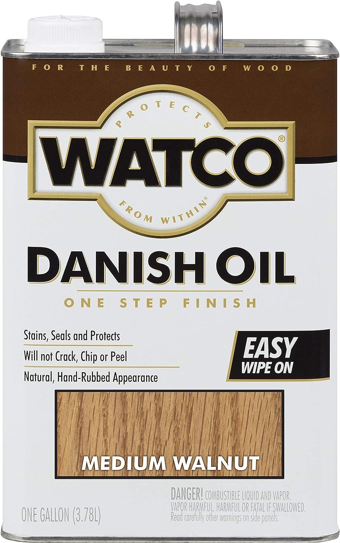 Award-winning store Watco 65931 Danish Oil Medium Gallon ~ Long Beach Mall Walnut 1