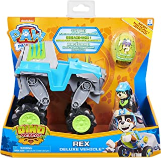 Paw Patrol 6059329 Dino HQ Rex Feat Vehicle Toy