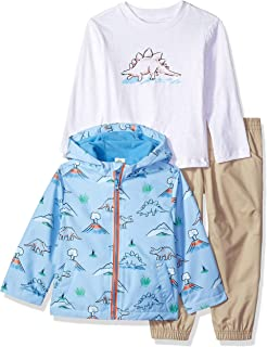 Little Me Boys' Toddler Jacket Set, tan