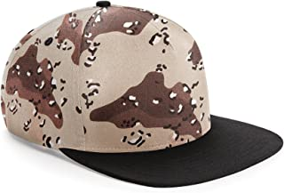 Camouflage Retro Snapback Cap