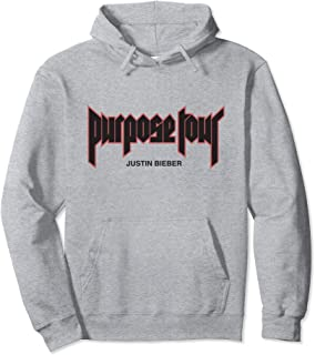 Purpose Tour Merch Filled Hoodie