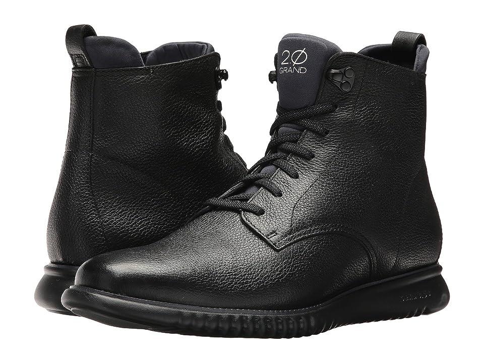 Cole Haan 2 Zerogrand City Boot Waterproof (Black/Black Waterproof) Men