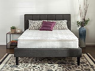 Zinus Ultima Comfort 10 Inch Pillow Top Spring Mattress,Twin