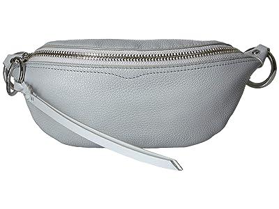 Rebecca Minkoff Bree Mini Belt Bag (Ice Grey) Day Pack Bags