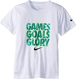 Nike Kids - Games Goals Glory Dri-FIT Tee (Little Kids)