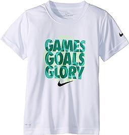 Nike Kids Games Goals Glory Dri-FIT Tee (Little Kids)