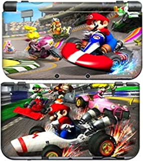 MARIO KART 1 for New Nintendo 3DS N3DS Skin New3DS Decal Sticker Vinyl Cover + Screen Protectors
