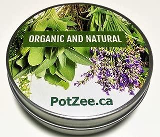 Spearmint Organic Herbal Smoking Blend, Premium Smoking Mix, Herbal Mixtures, 100% Natural, Nicotine Free, Tobacco Alternative, Smoking Herbs -1oz Tin - Free Shipping