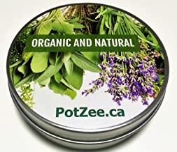 Lemon Organic Herbal Smoking Blend, Smoking Mix, Herbal Mixtures, 100% Natural, Nicotine Free, Tobacco Alternative, Premium Smoking Herbs - 1oz Tin - Free Shipping