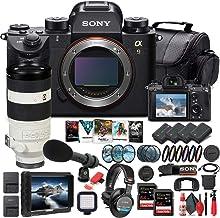 Sony Alpha a9 Mirrorless Digital Camera (Body Only) (ILCE9/B) + Sony FE 100-400mm Lens + 4K Monitor + Pro Headphones + Pro...