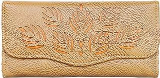 Fristo Beige &Tan PU Women's Wallet (FRW-095)