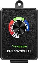 VIVOSUN ruisonderdrukker geluiddemper voor Inline Duct Fan Speed Controller Speed Controller