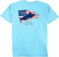Guy Harvey Men's Patriot Short Sleeve Pocket T-shirt