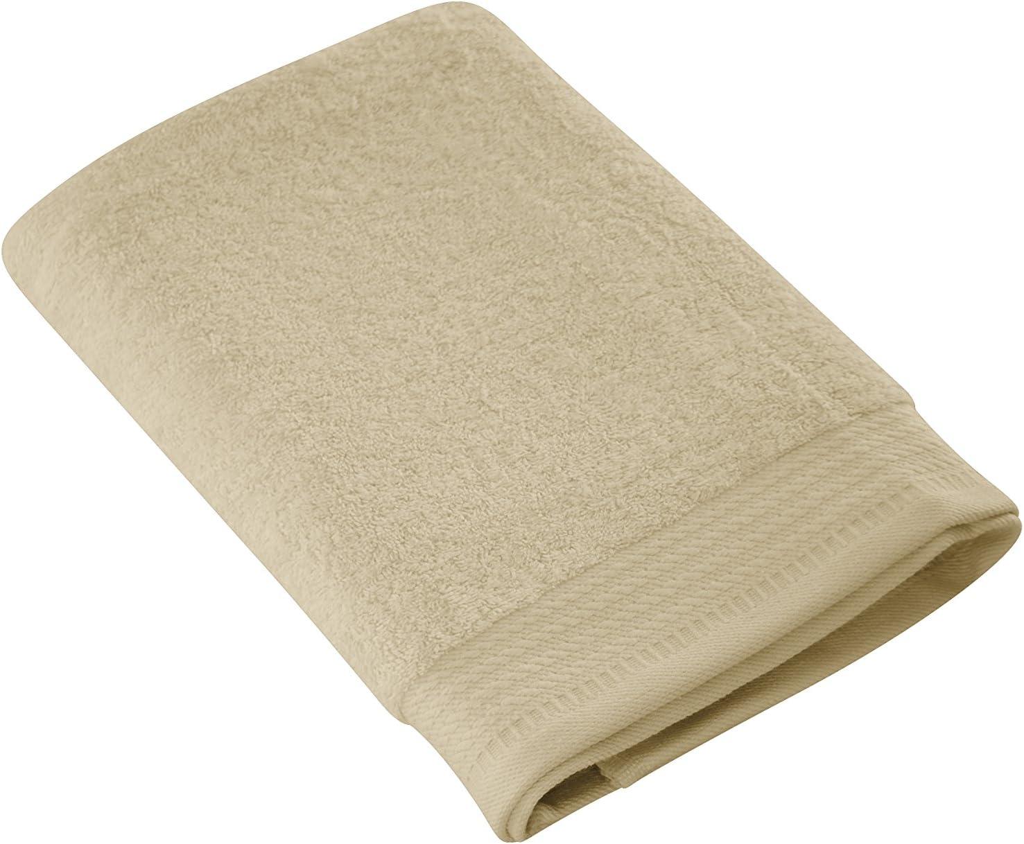 Camel Eiffel Textile Toalla de Lavabo 50x100x10 cm Algod/ón