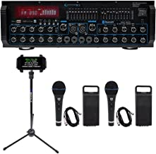 Technical Pro MM2000BT Active Bluetooth Karaoke Mixer Amp SD, USB+(2) Mics+Stand