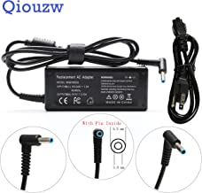 Qiouzw 19.5V 3.33A 65W AC Adapter Laptop Charger Replacement For HP Envy Touchsmart Sleekbook 15 17 M6 M7 Series,741727-001 710413-001 710414-001 709986-003 PPP009C H6Y89AA H6Y88AA power supply cord