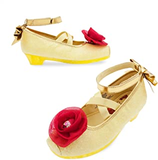 Belle Costume Shoes for Kids - Beauty and The Beast Yellow